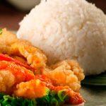 Reineta al horno con arroz Banquete