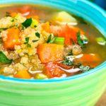 Sopa de Quínoa